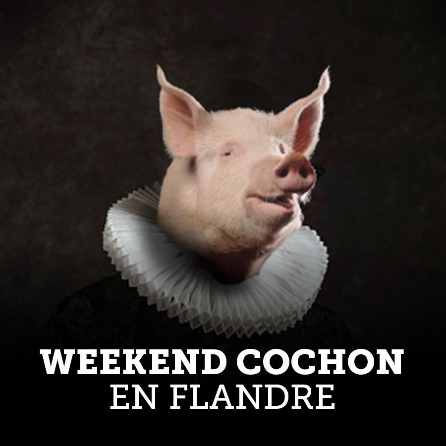 Week-end cochon en Flandre