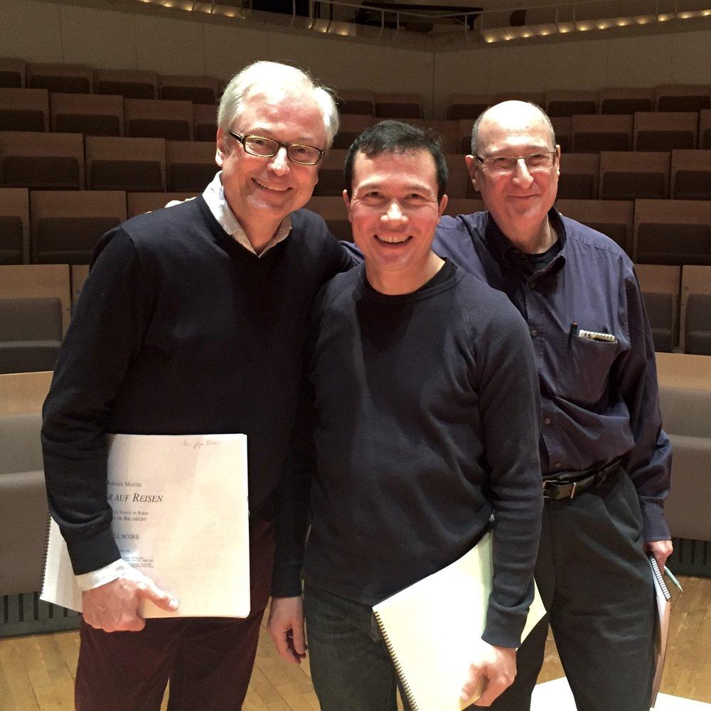 Berliner Philharmoniker, narrator Hans-Jürgen Schatz, conductor Stanley Dodds, composer Raphael Mostel