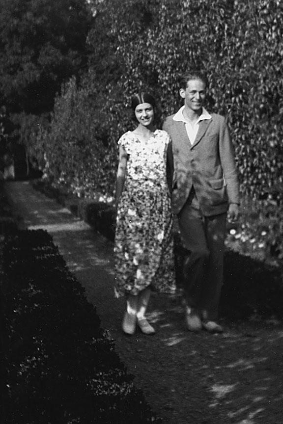 Cécile and Jean de Brunhoff, photo courtesy of Laurent de Brunhoff