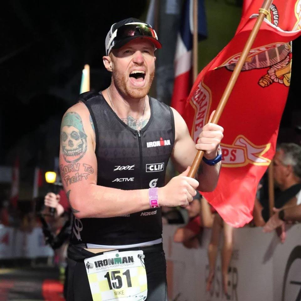 Mike Ergo - USMC VeteranIRONMAN World Championship FinisherFatherSuperHuman
