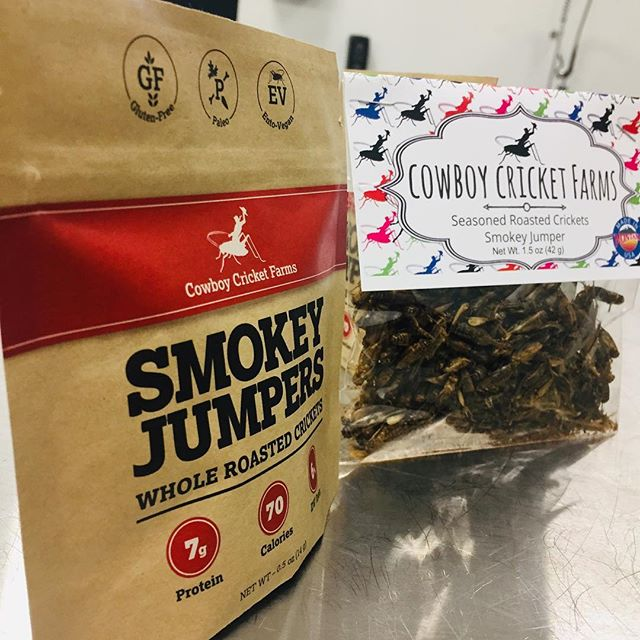 It's #transformationtuesday and we've got a good one! Our old #packaging was pretty bad but this new one from @roastar by @alexa.datri and @kreester13 is #amazing! So excited to get it out on our @kickstarter #campaign next week! #crickets #cricketsarefood #sustainability #recycle