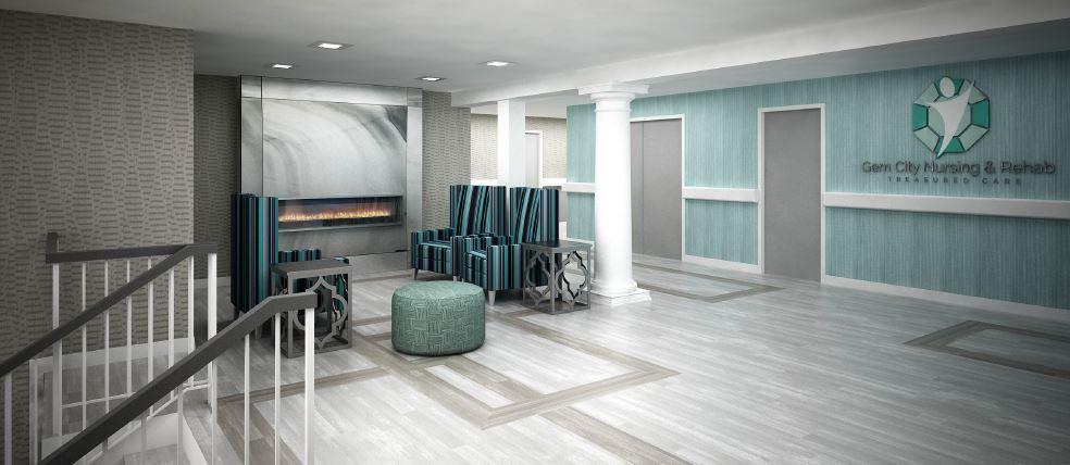 Gem City Nursing Home Lobby