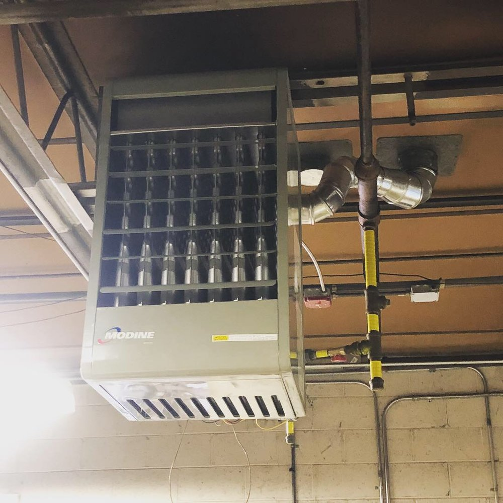 Modine Commercial Hanging Heater
