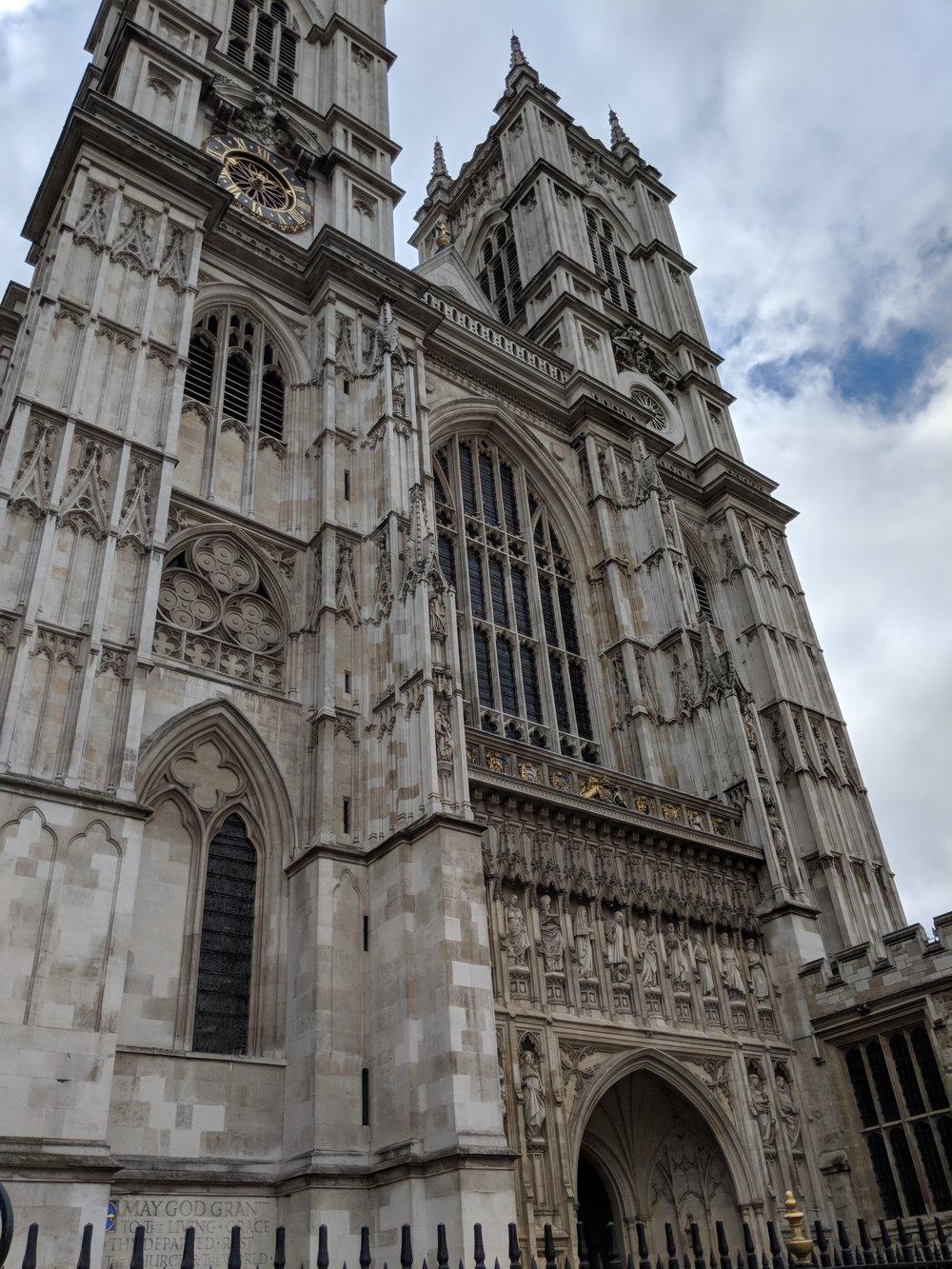 Westminster Abbey. Photo courtesy of Sara Fontes