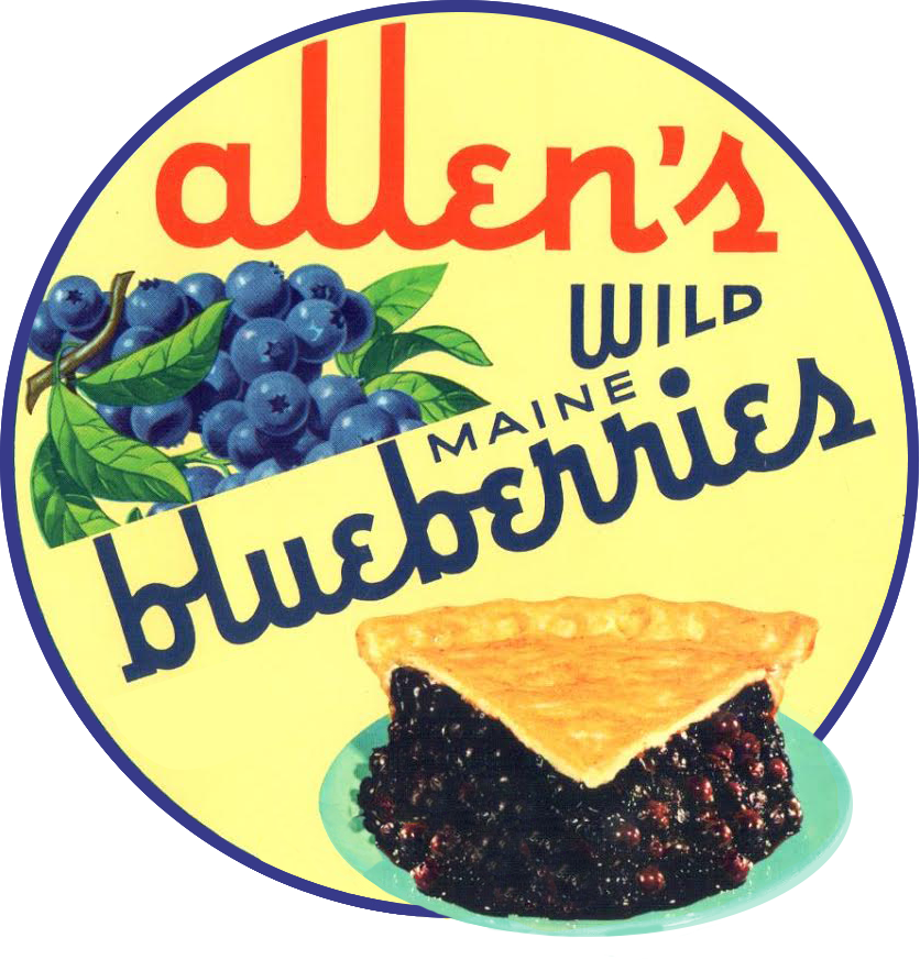 Allen's Wild Maine Blueberries