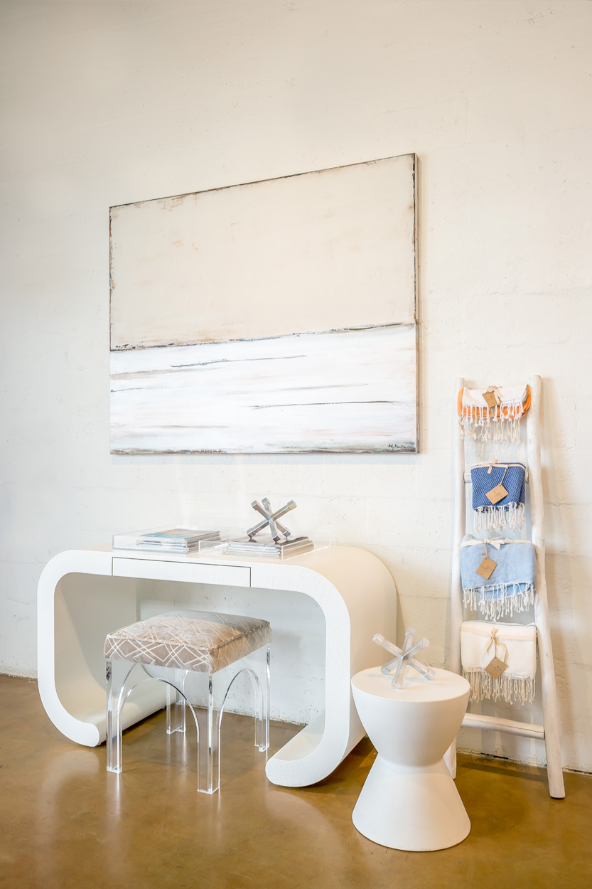 White desk by Made Goods