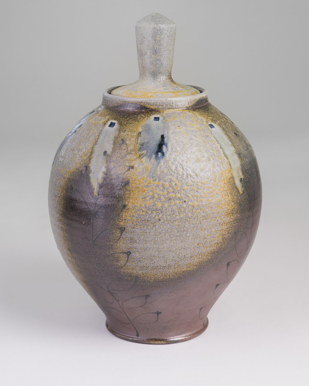 Lidded Bottle