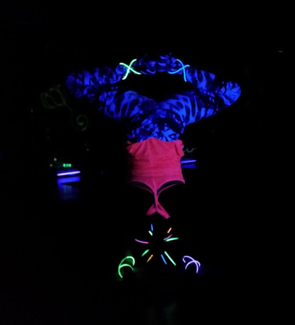 Teaching Glowga for a Private Event