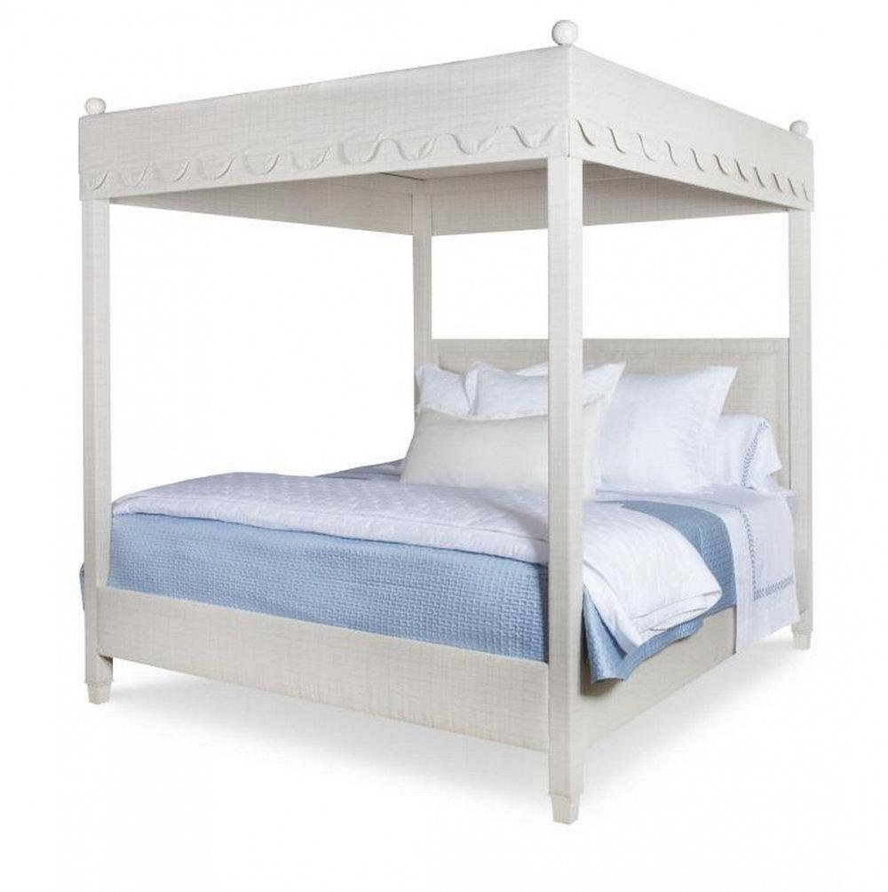 HIGHLAND HOUSE Courtney Upholstered Canopy