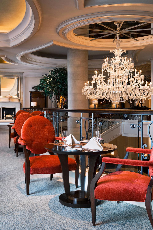 St. Regis Atlanta's Astor Court , photo courtesy of Marriott Hotels
