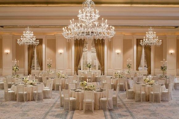 St. Regis Atlanta's Astor Ballroom , photo courtesy of Marriott Hotels