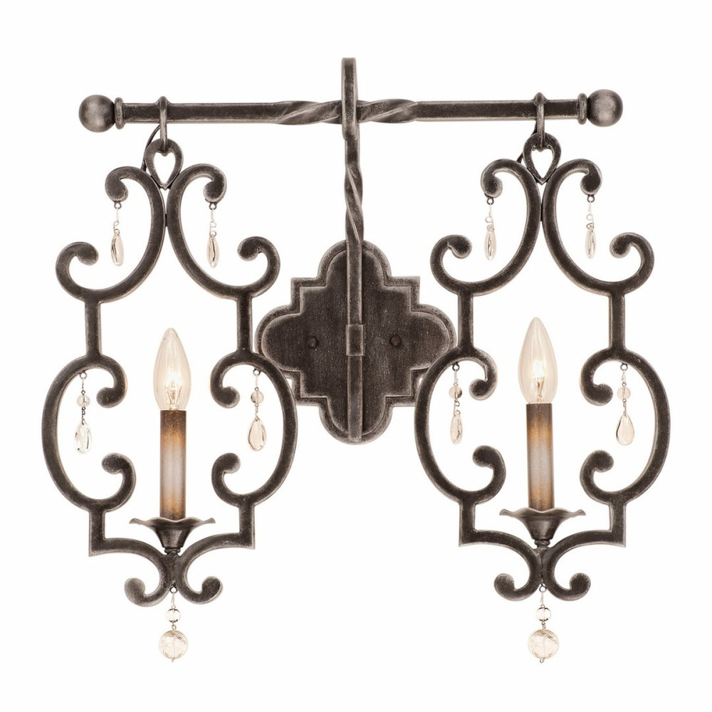 Scrolled Wrought Iron  ( Kalco Lighting )