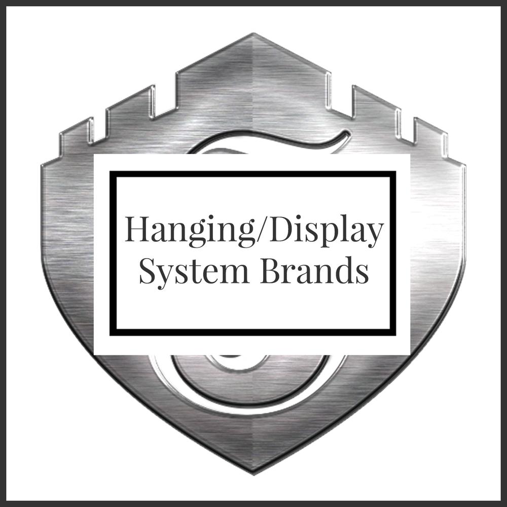 Hanging/Display System Brands