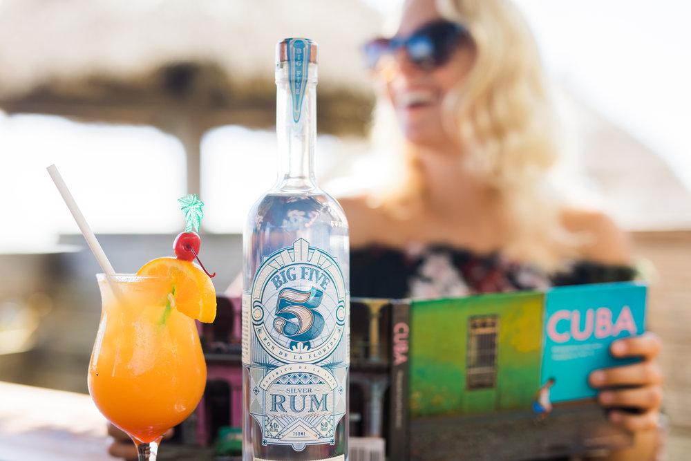 Big 5 Silver - Big 5 Silver Rum is very clean, classic and suave – made in the traditional Caribbean style, this spirit is delicious served in a cuba libre topped with lime.