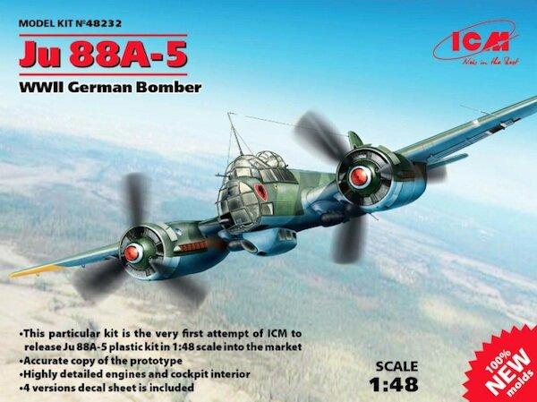 ICM Models 1//48 WWII German Bomber Junkers Ju 88A-5