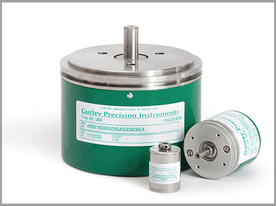 Optical Encoders - We offer Optical Encoders for both rotary and linear motion, in conventional incremental and absolute configurations and in GPI's unique Virtual Absolute™ technology. They are used to measure or control position and/or speed in medical instrumentation, electronic manufacturing equipment, robotics, factory automation, graphic arts and printing equipment, machine tools, radar pedestals, and high speed scanners. Our self-contained rotary incremental encoders are available in a variety of sizes, from 0.75