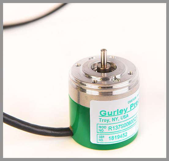 Gurley Model R137 Rotary Incremental Encoder - Series: R137Dia.: 1.5