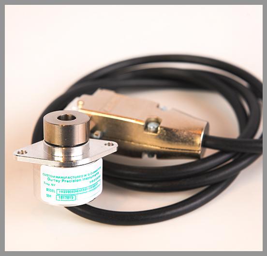Gurley Series M122 Magnetic Rotary Encoders - Series: M112Dia.: 0.86