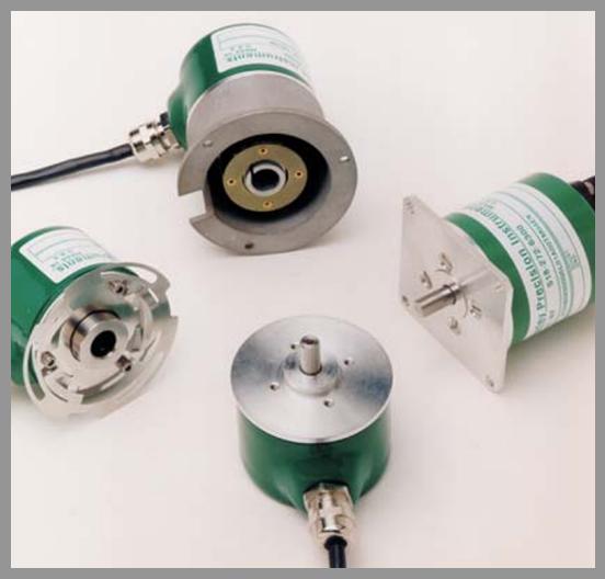 Gurley Series 9x20 Rotary Incremental Encoder - Series: 9x20Dia.: 2.0
