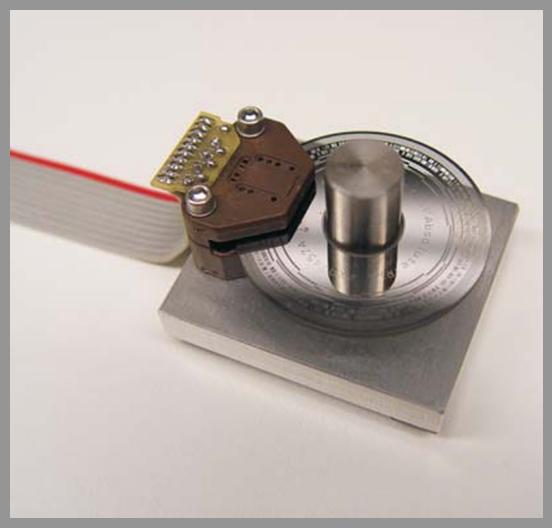 Gurley Model 7700 Incremental and Virtual Absolute Encoder - Series: 7700VADia.: < 1.7