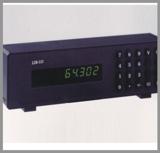 Displays - Series: Digital displays: Incremental and Absolute