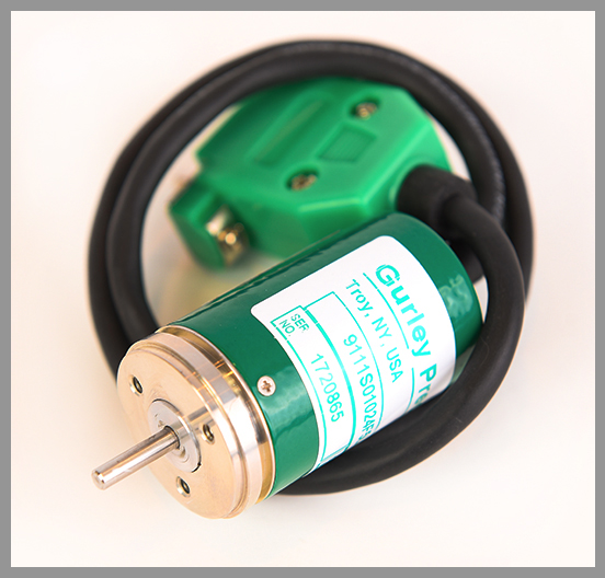 Gurley Series 9x11S Rotary Incremental Encoder - Series: 9x11SDia.: 1.1