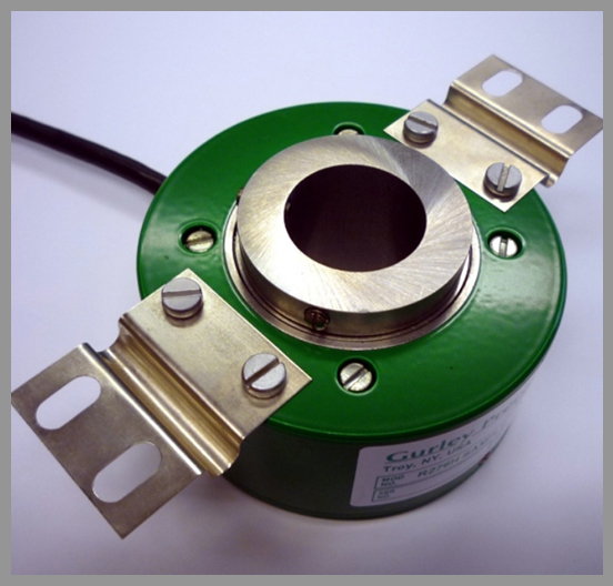 Gurley Series R176H Rotary Incremental Encoders - Series: R176HDia.: 3.0