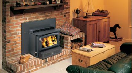 Hearth Heater Woodburning Insert