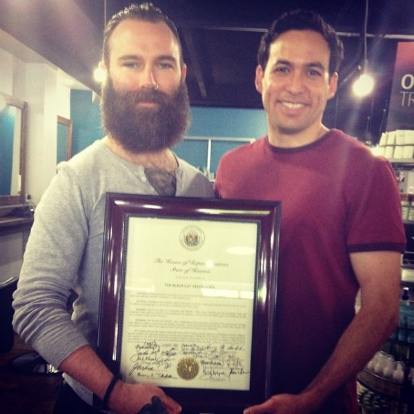HAWAI'I HOUSE OF REPRESENTATIVES   Certificate acknowledging our contributions to the community