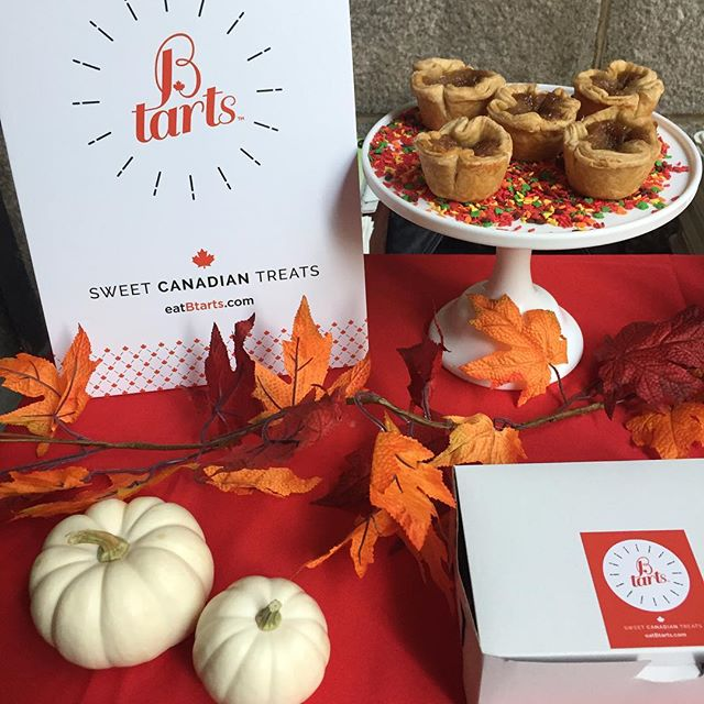 Come out and celebrate Canadian Thanksgiving weekend @smorgasburg with Btarts, A delicious alternative to pumpkin or apple pie! If you're Canadian, show us your 🇨🇦passport For a special discount. And we have 🆓 candied pecan and autumn 🍁 sprinkle toppings for everyone!🇨🇦🍁🥧🦃#grateful #thanksgiving #celebrate #newdessert #treatyourself #dessertlovers #nyceeeeeats #bakefromscratch #brooklyneats #🇨🇦❤️🇺🇸