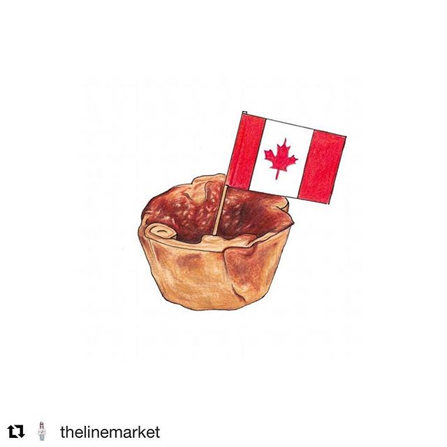Thanks to @thelinemarket for this fabulous vision of @eatbtarts inspired by @nytcooking!!! #dessertart #foodasart #weloveart #buttertarts #foodiesofinstagram #beautifulfood #foodieheaven #bakedfromscratch #thebakefeed