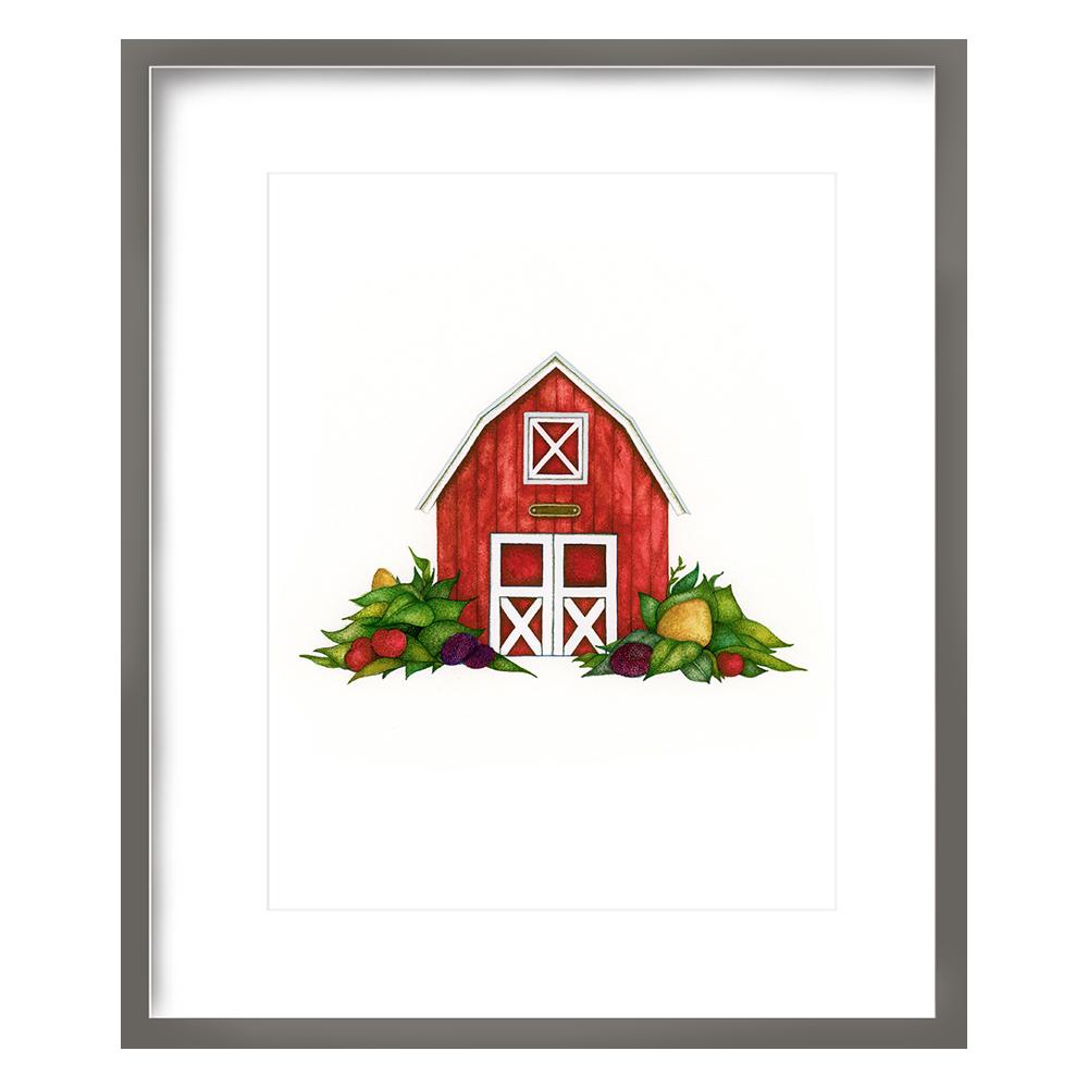 Barn Print 8x10 - $20 -