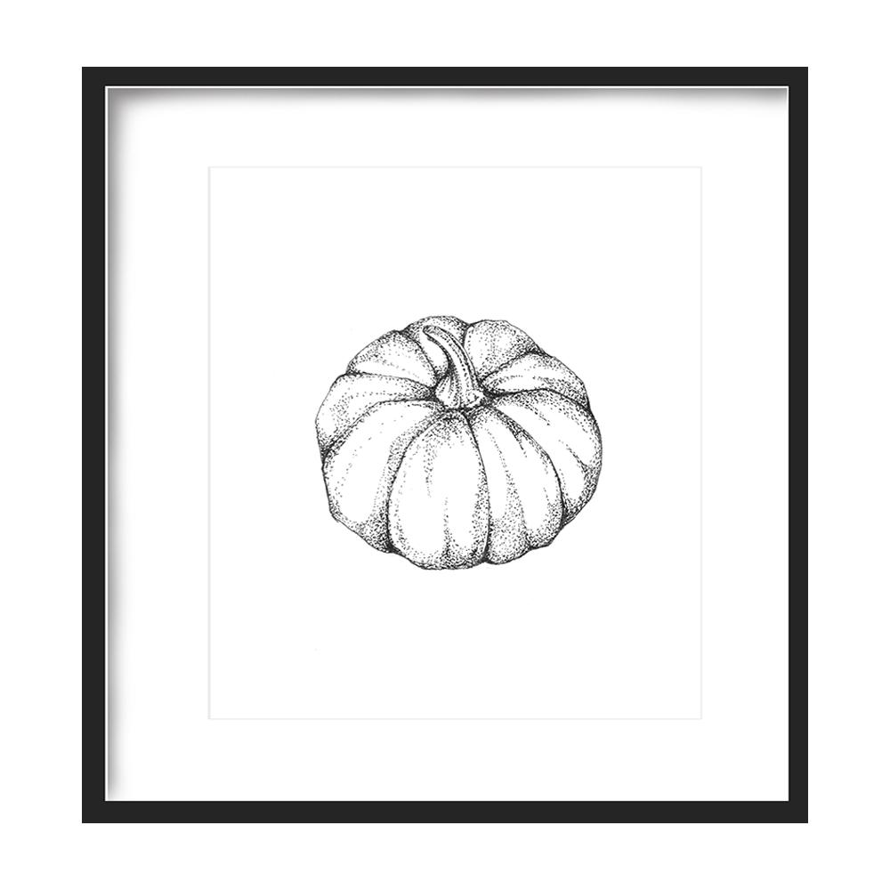 Pumpkin Print 5x5 - $5 -