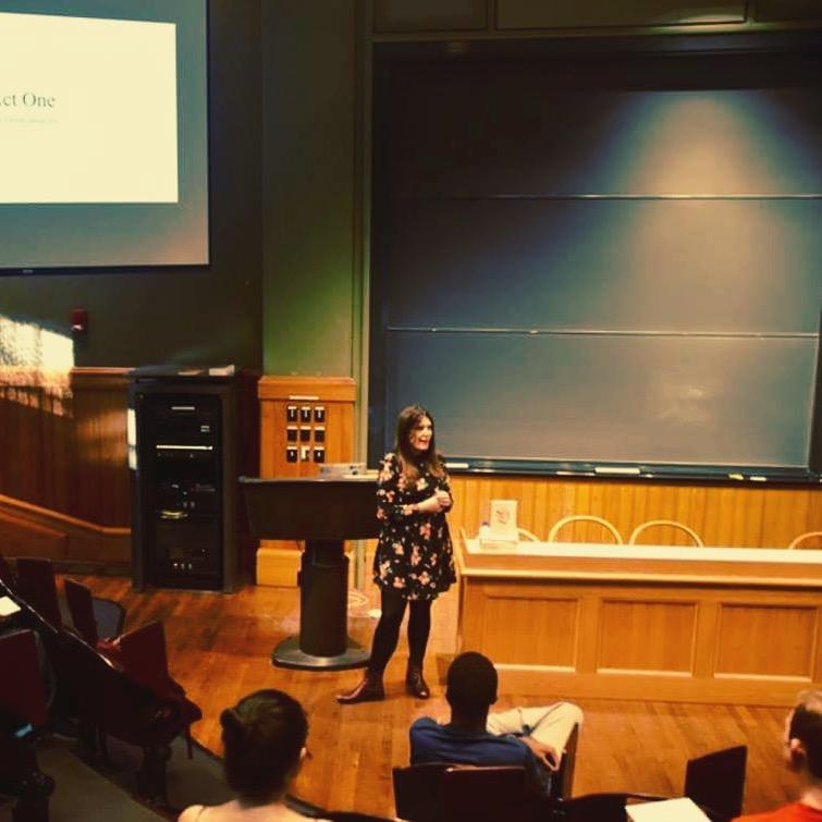 Break The Sex Myth founder Rachel Hills keynotes Harvard Sex Week 2017.