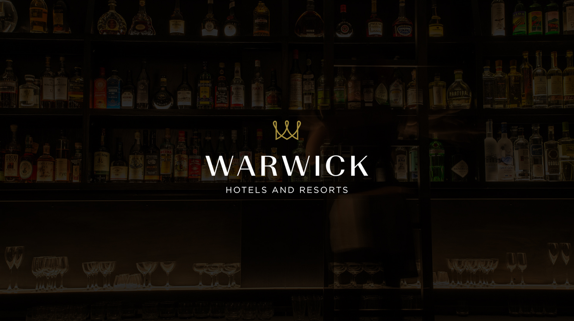 warwick hotels resorts blackletter branding design agency
