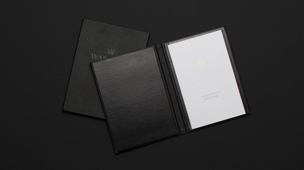Warwick Hotels Compendium design