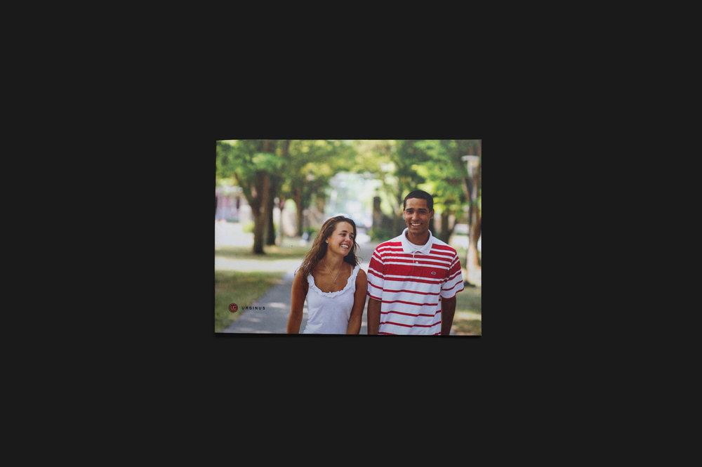 Ursinus College viewbook design and development, school photography