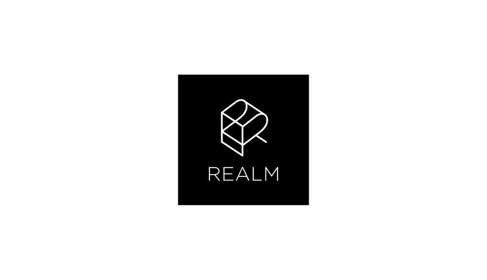 Realm logo design