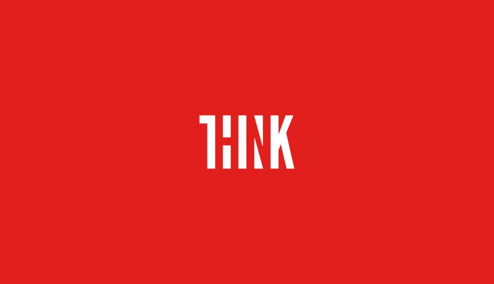 Think! logo design