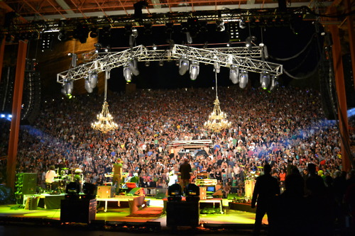 Thievery Corporation at Red Rocks, August 14, 2011
