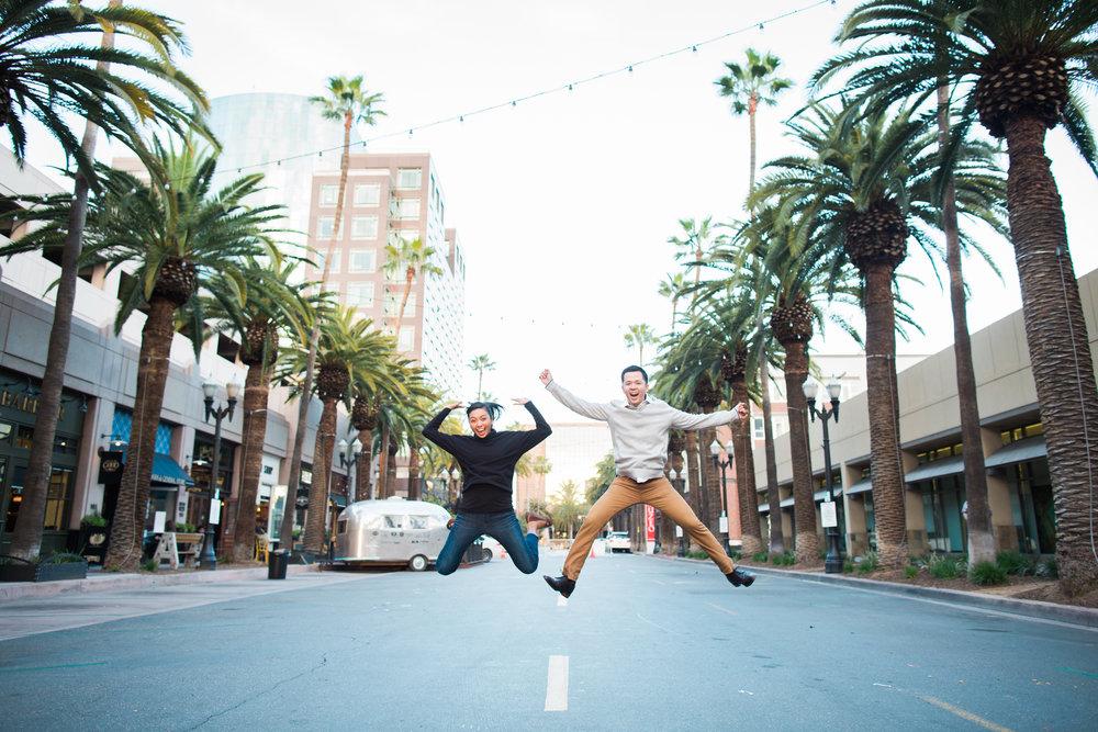 Downtown Anaheim Engagement