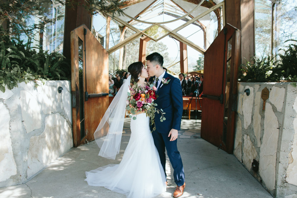 Wayfarer's Chapel Wedding