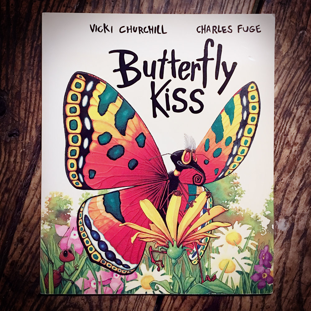 Butterfly Kiss - Illustrations by Charles FugeHodder Children's Books 1997Buy Here