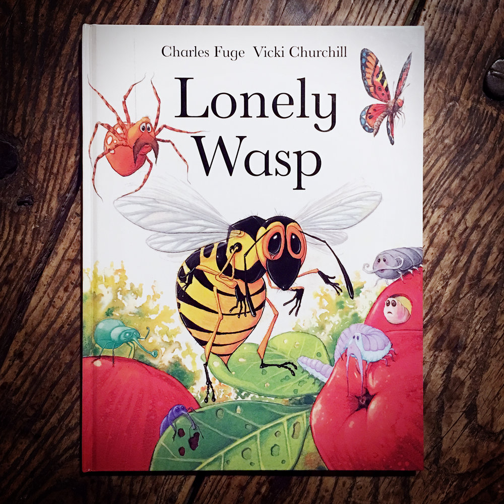 Lonely Wasp - Illustrations by Charles FugeOxford University Press 2000Buy Here