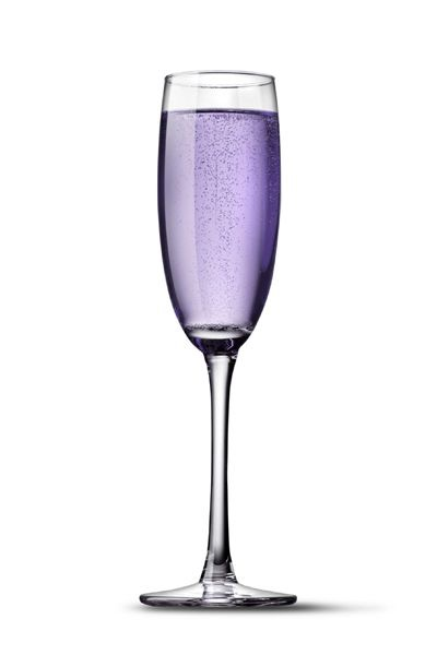 Purple-dyed Champagne