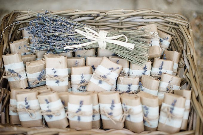 Lavender Soap Wedding Favors