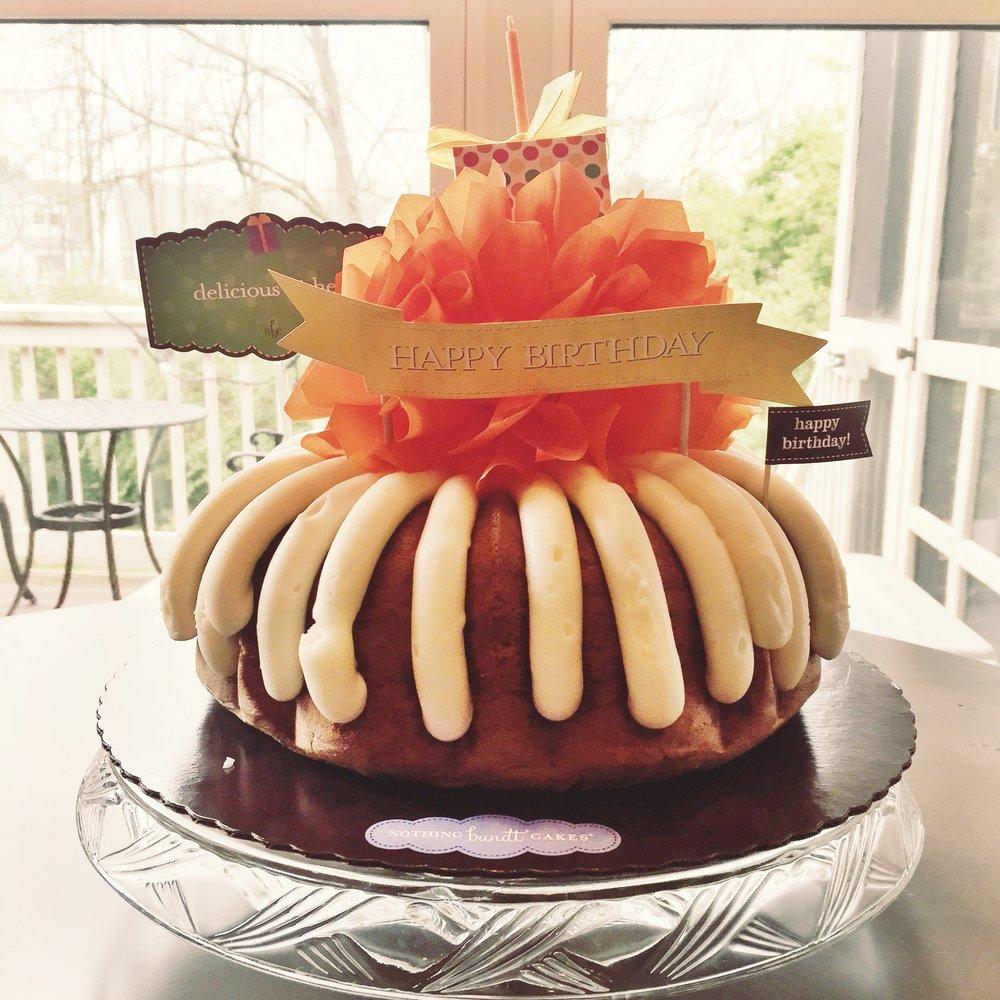 Nothing Bundt Cakes - Confetti Birthday Cake