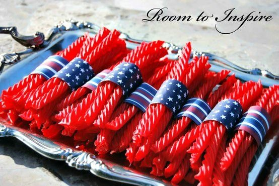 Patriotic Twizzlers