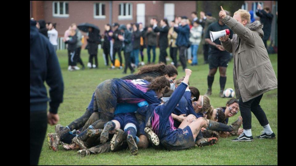 Pride as we (UAL) won the Annual Varsity match against our [amicable] rivals, Goldsmiths.