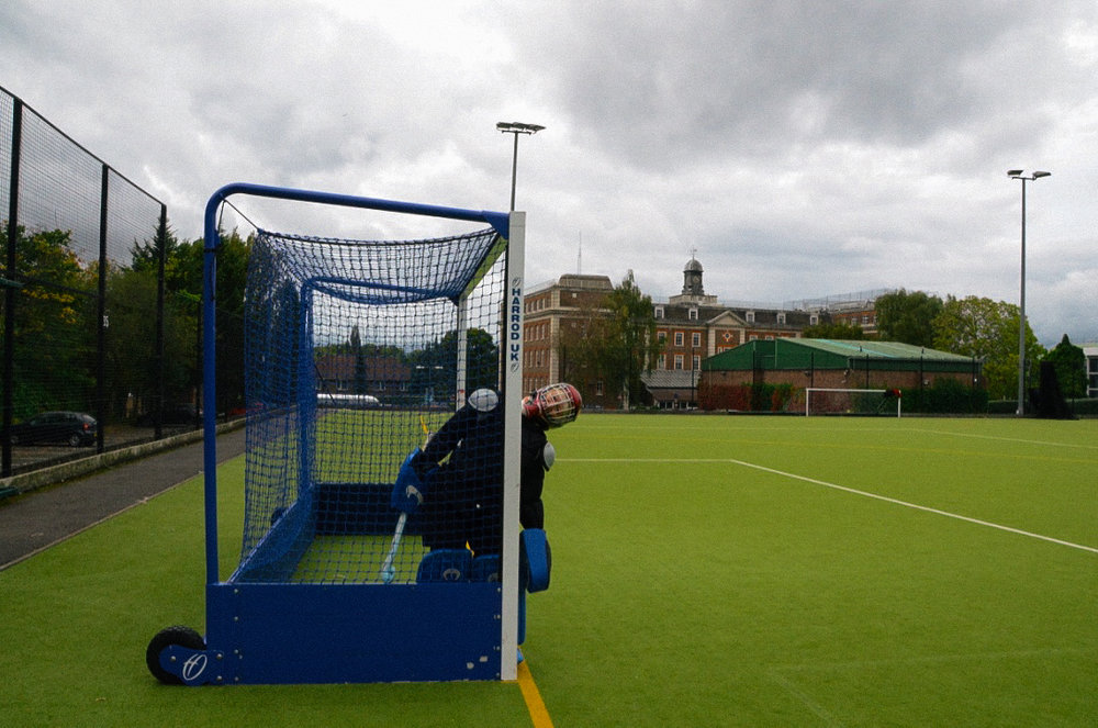 Titch: Goal keeper for Bank of England HC